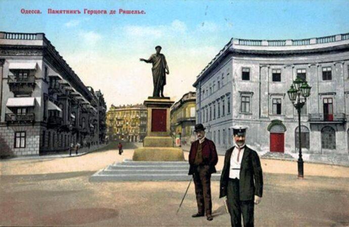 Памятнику Дюку исполнилось 193 года: как он выглядел в разные времена (много фото)