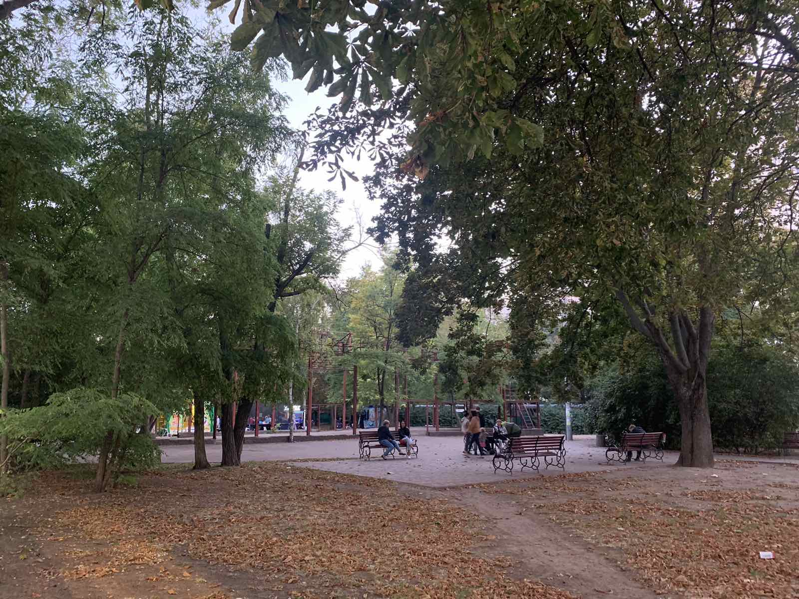 сквер Королева в Одессе