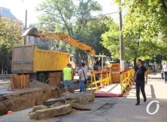 Ремонт на Канатной в Одессе: перекрёсток на Семинарской планируют открыть на следующей неделе