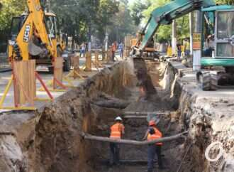 Одесса в пробках, Канатная в раскопках: зачем каждый год ремонтируют теплотрассу на одной и тоже улице