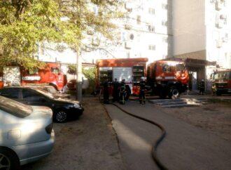 В Одесі горіла квартира у 10-поверхівці