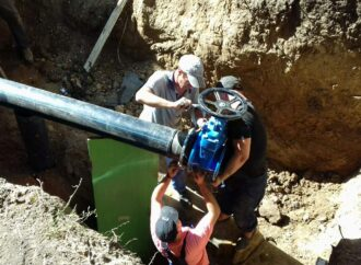 «Инфоксводоканал» продолжает менять трубы на проспекте Добровольского: 23 сентября будет отключена вода в нескольких домах ж/м «Котовского»