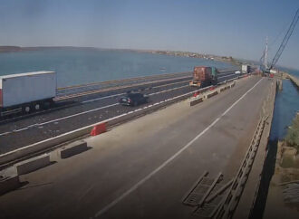За ремонтом моста через Хаджибейский лиман можно следить через веб-камеры