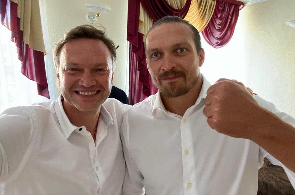 Андрей Данилевич и Александр Усик