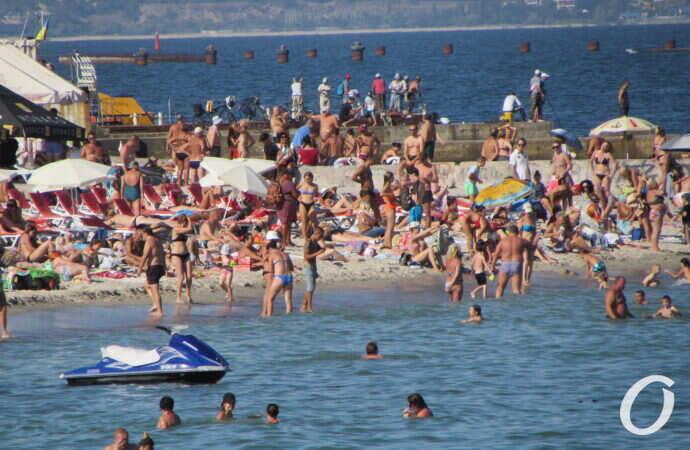 Температура морской воды в Одессе: комфортно ли на пляжах в четверг?