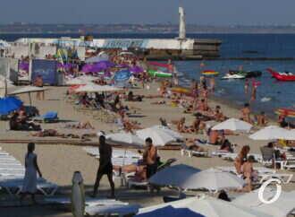 Последние пляжные недели на Одесском побережье (фоторепортаж)