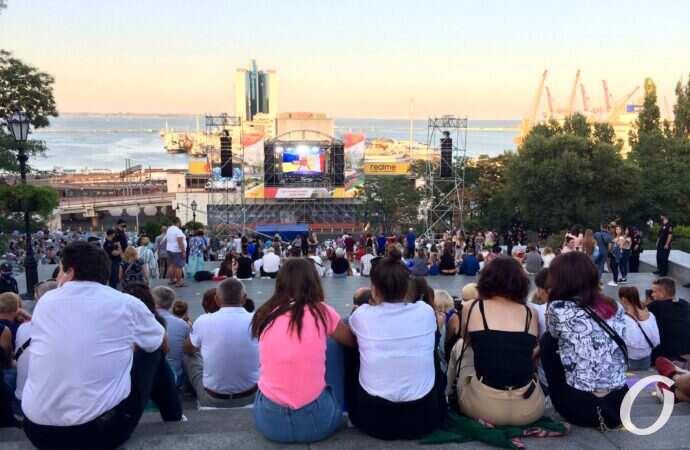 День города Одесса завершился ярким фейерверком (видео)