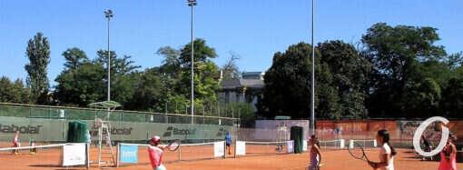 В Одессе собрались лучшие юные теннисисты Украины