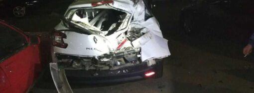 В Одессе 19-летний гонщик на ВАЗе разбил пять иномарок