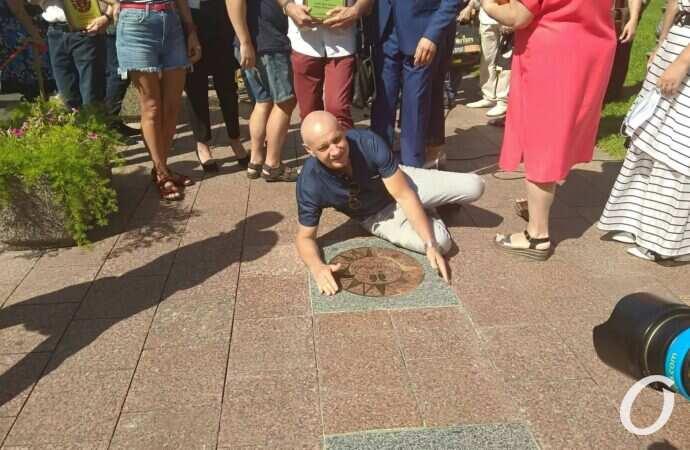 В День города на Аллее звезд в Одессе появились новые имена