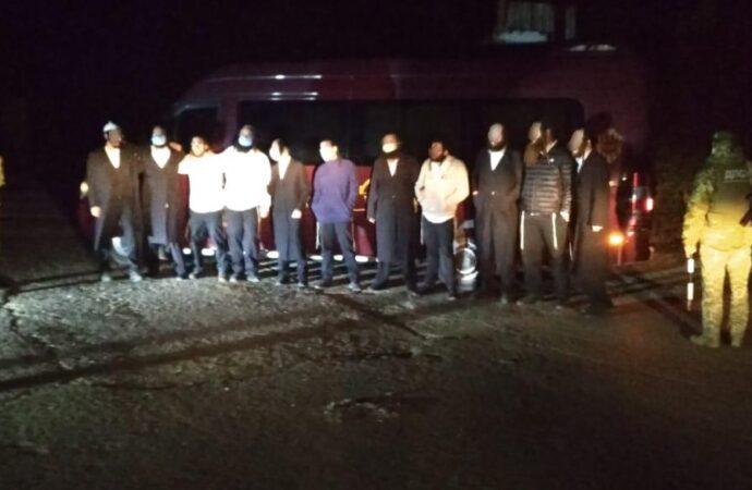 Танцы нелегалов: в Одесской области задержали 11 паломников-хасидов (видео)