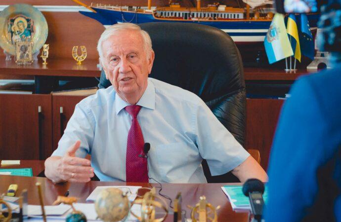 Мэр Черноморска решил не баллотироваться на новый срок