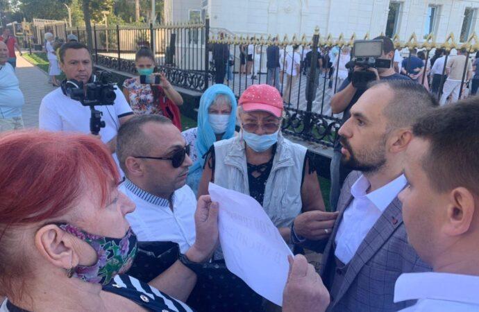 В Одессе учебный год в церковно-приходской школе начался с потасовки