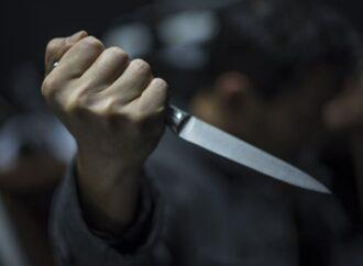 На жительницу Котовского напал с ножом пьяный незнакомец в подъезде ее дома