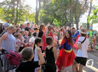 В одесском Алексеевском сквере устроили День Молдаванки