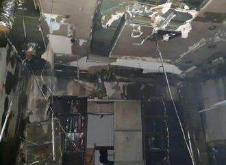 В Одесі на території заводу сталася пожежа