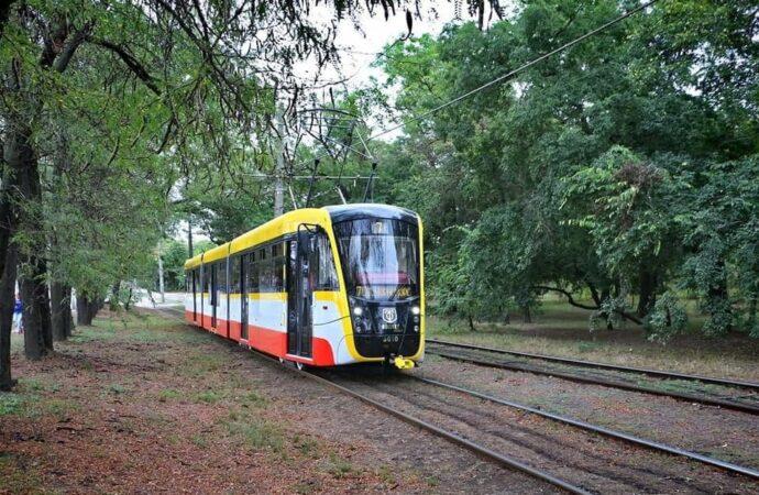 В Одессе из-за ремонта сквера на время изменят трамвайный маршрут: схема движения