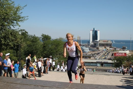 В Одессе устроят забег вверх по Потемкинской лестнице