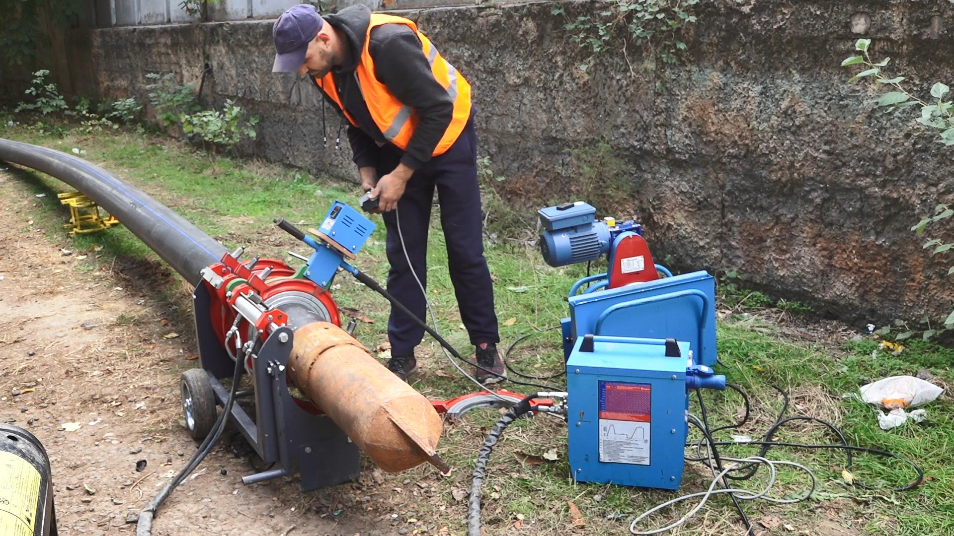 «Инфоксводоканал» обновил водопровод и пожарные гидранты на улице Семена Палия