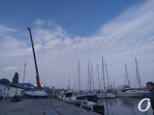 Яхтклуб, закрытие сезона