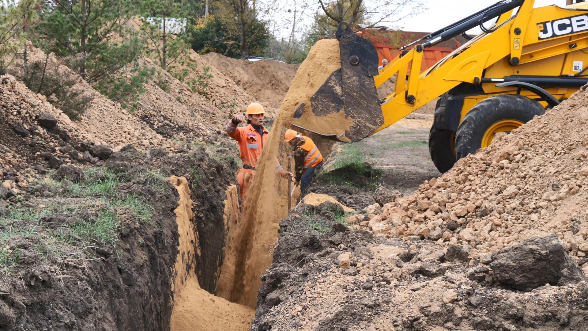 «Инфоксводоканал» обновляет водовод на Затоку и Каролино-Бугаз