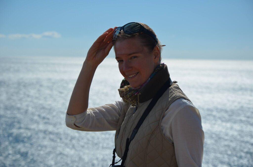 аведующая отделом экологии краевых сообществ Института морской биологии