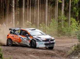 Одесский автогонщик занял призовое место на ралли в Эстонии (видео)