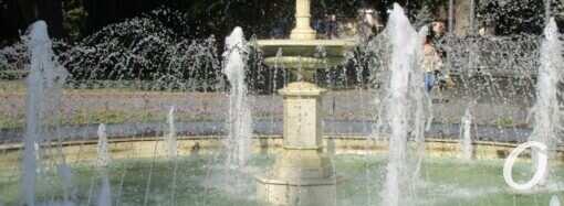 Одесские фонтаны начнут запускать с 1 апреля