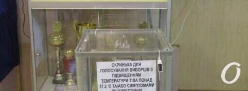 Явка избирателей: в ЦИК назвали официальные данные по Одесской области