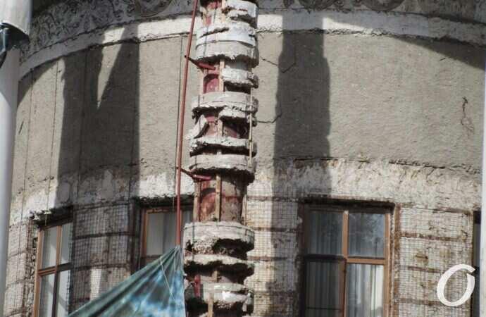 Здание одесской мэрии ужасает видом «с тыла» (фото)