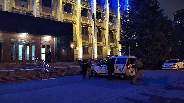 В Одессе заминировали здание облгосадминистрации, где работает теризбирком