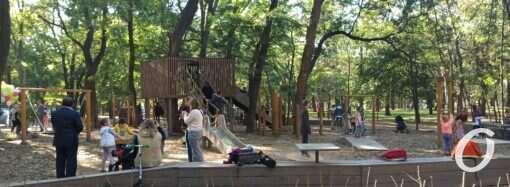 В Одессе появилась экологичная площадка для детей (фото)