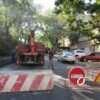 В Одессе ремонтируют теплотрассу рядом с обрушившимся домом на Торговой (фото)