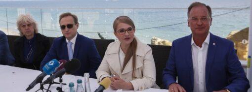 Юлія Тимошенко: Потрібно законом захистити Одеські схили від незаконних забудов