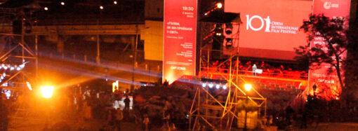Одесский кинофестиваль: на Потемкинской лестнице показали немецкий немой «ужастик» (фото)