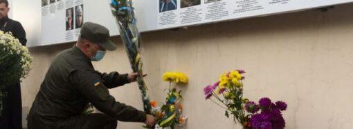В одесском соборе открыли стену памяти о павших на Донбассе воинах