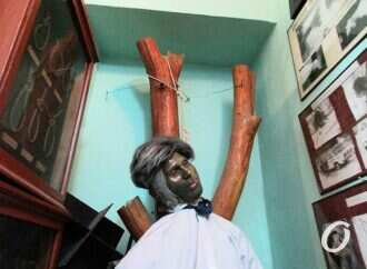 В детективном музее Одессы «живут» висельники и изувеченная плоть (фото)