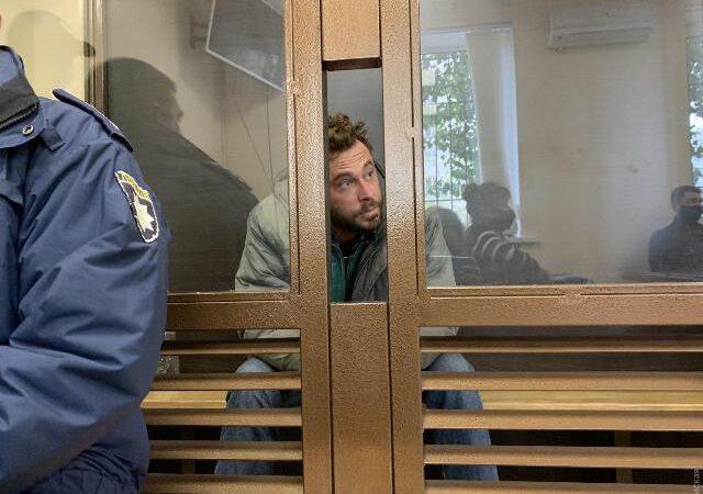 Неадеквата, покуролесившего в центре Одессы, арестовали на 2 месяца