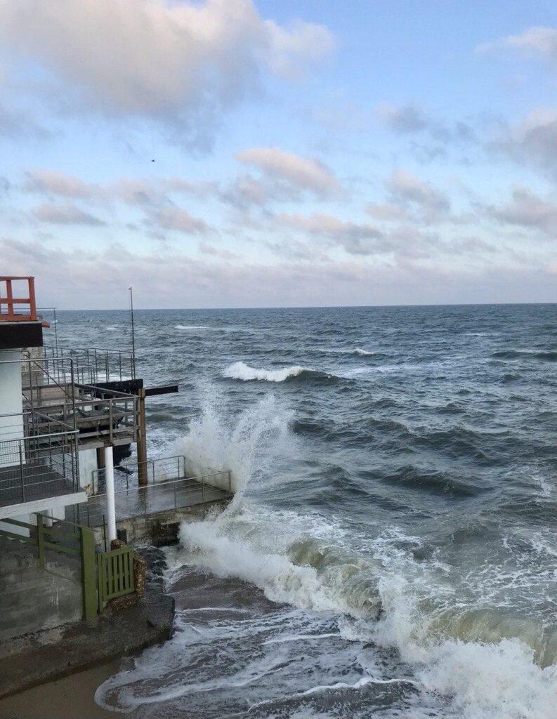 Черное море возле Одессы
