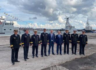 В Одесской области открыли базу ВМС Украины