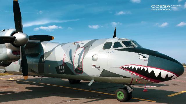 В аэропорт Одессы наведалась «акула» из голливудского блокбастера