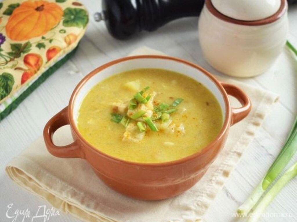 Гороховый суп на молоке