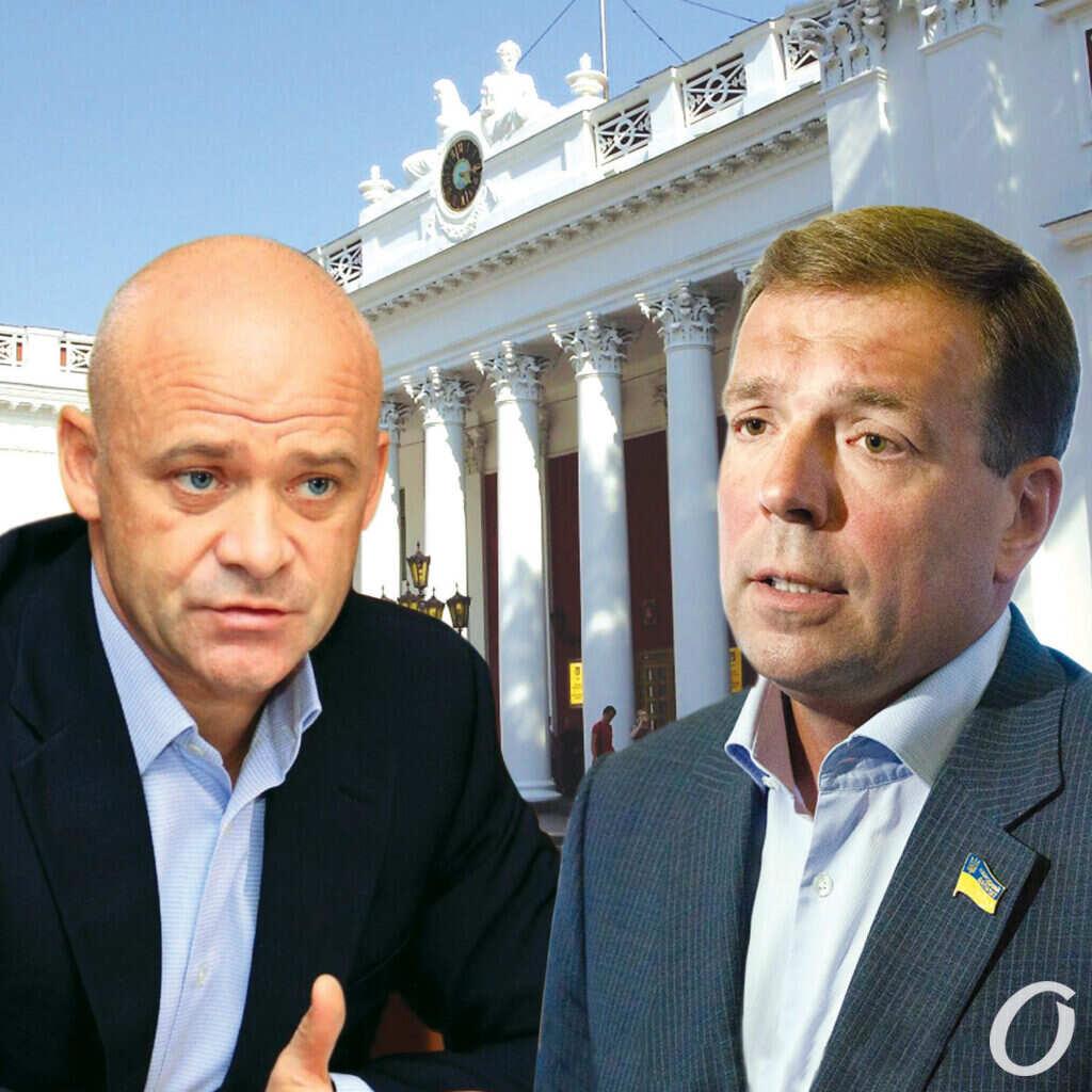 Труханов и Скорик, выборы в Одессе