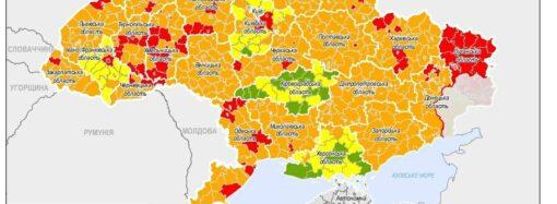 Новое карантинное зонирование: какими цветами отметили Одесскую область?