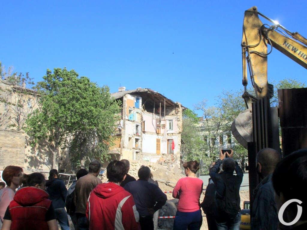 обрушение дома в Одессе