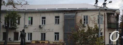 В Одессе ищут подрядчика для завершения ремонта горевшего дома на Бунина