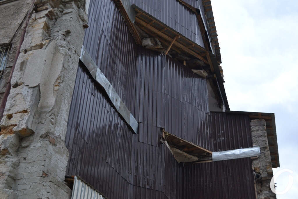 дом на Ясной после обвала