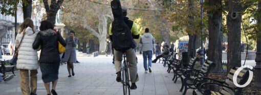 Осень в Одессе: старинный бульвар и «юный» парк – фоторепортаж