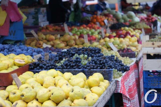 рынок, фрукты