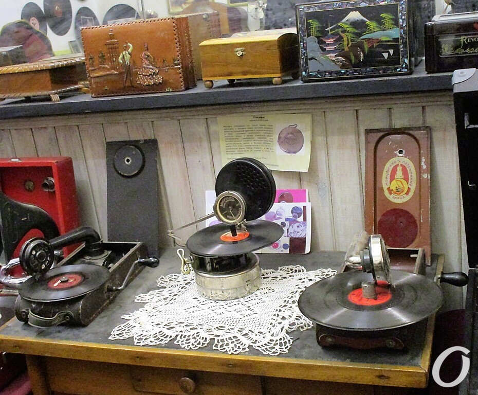 в одесском музее звука